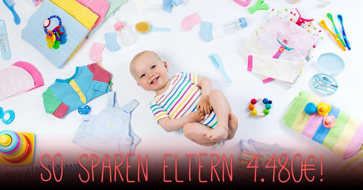 ᐅ Wie Du 4 480 Euro Im Ersten Lebensjahr Deines Babys Sparst