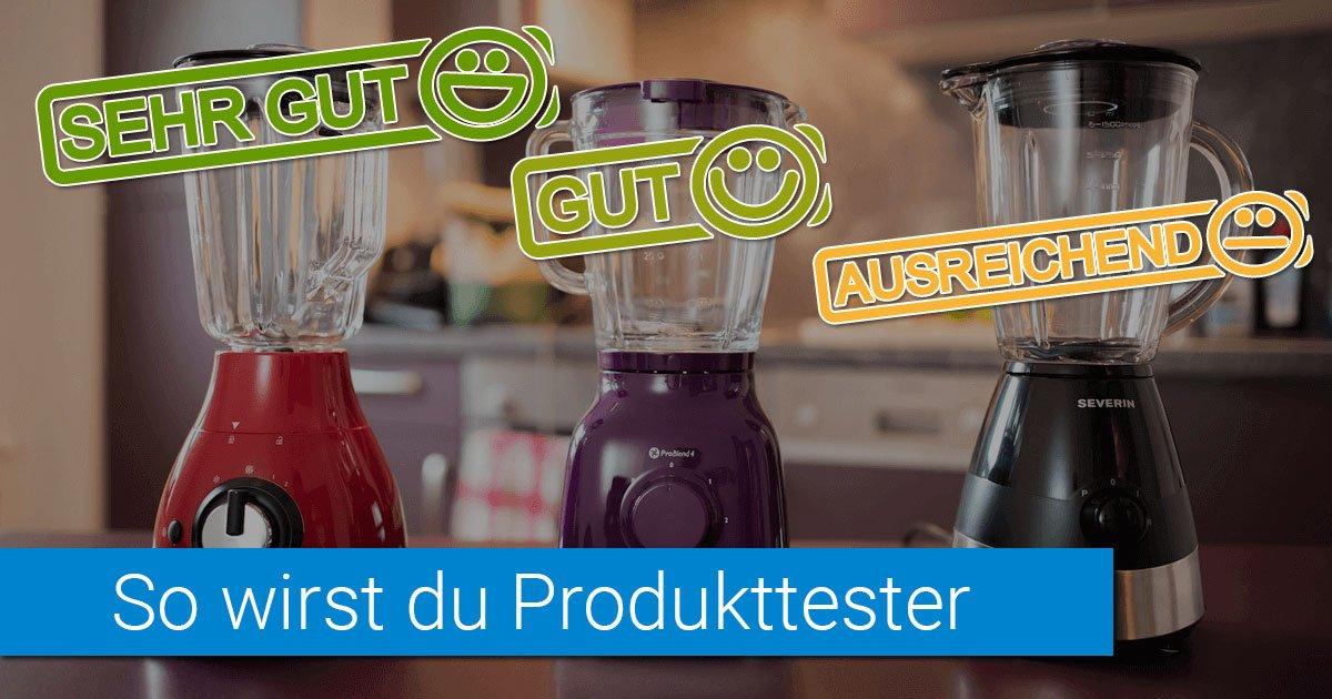 Produkttester Gegen Bezahlung