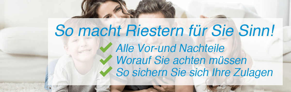 Die Riester-Rente 2018