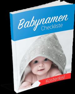 Babynamen Checkliste kostenlos downloaden!