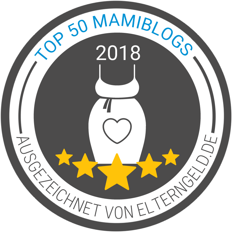 Siegel: Top Mamiblogs 2018