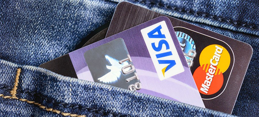 Visa- oder Mastercard?