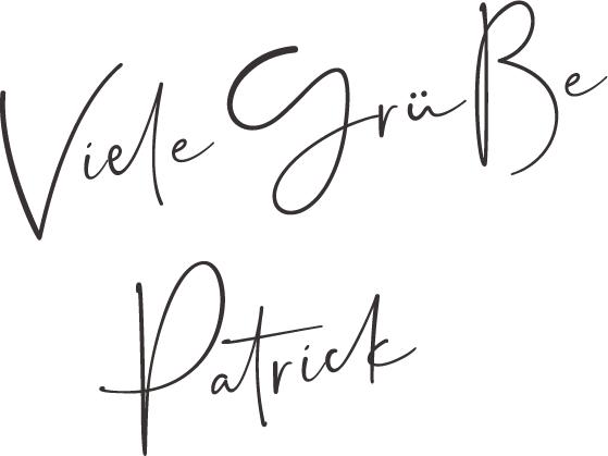 Viele Grüße, Patrick