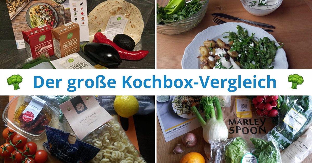 Kochboxen Vergleich